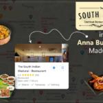 Restaurants near anna bus stand madurai